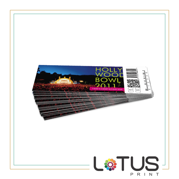 events ticket printing welcome to lotus print shop